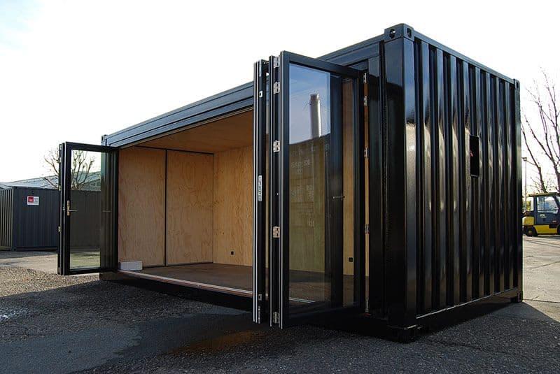 Mobile showroom for Egernsund Tegl