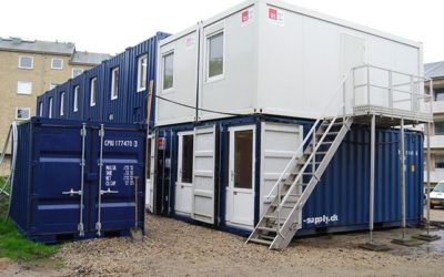 Container Complex for 60 People