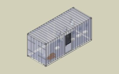 Residential container with Toilet and Shower – DS 2081