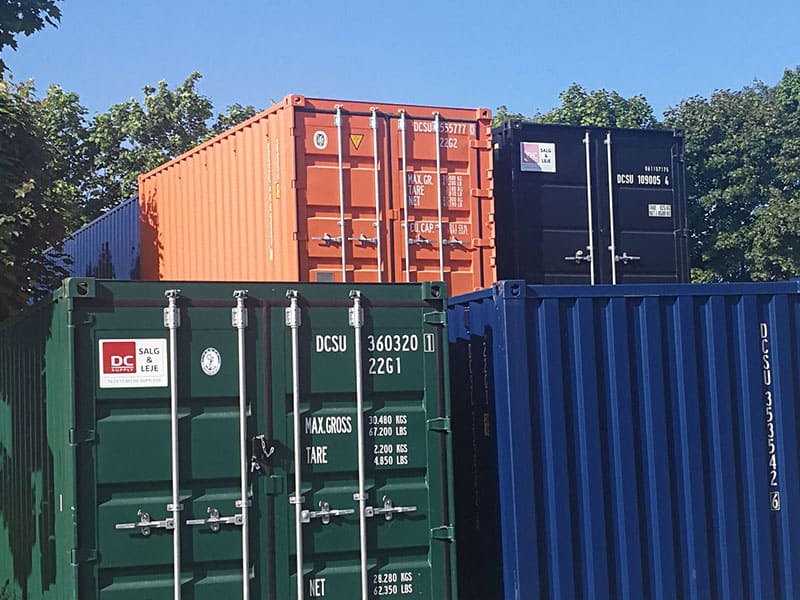 Containerhjul til ISO containere