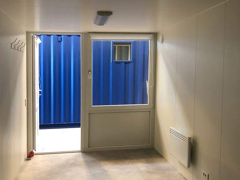 20 fods kontor container med CSC-godkendelse