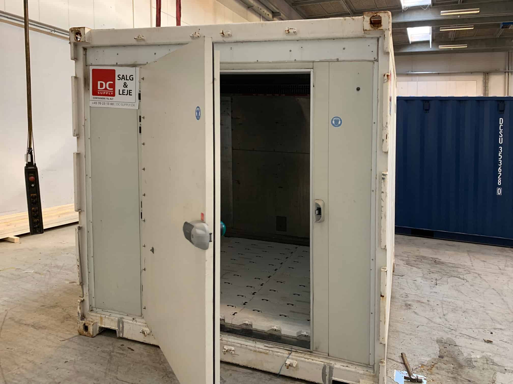 10 ft reefer container - DKK 28,000