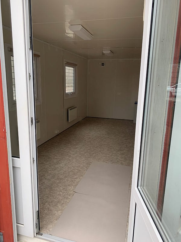 20 ft office container - DKK 38,000