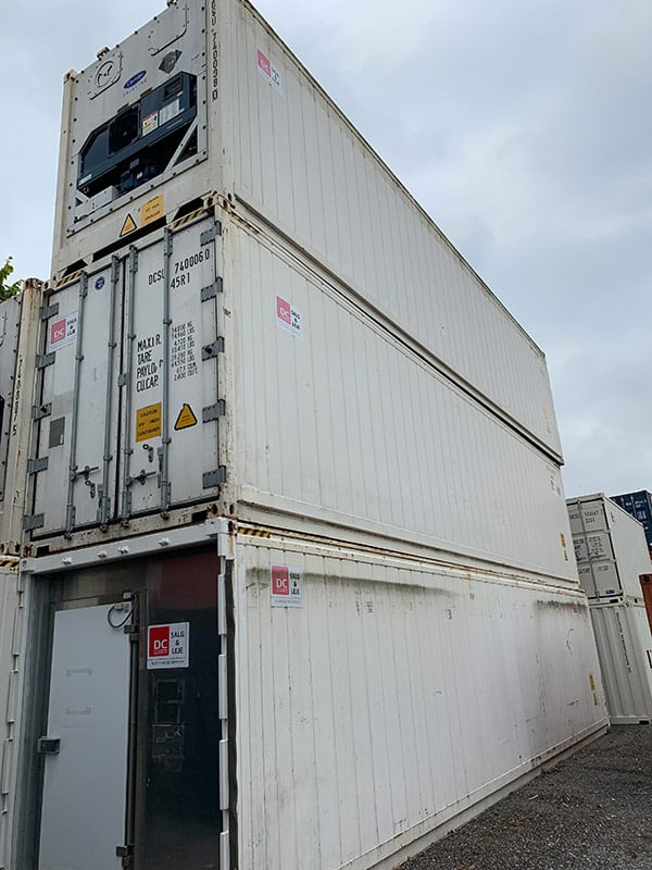 40 ft reefer container - DKK 85,000
