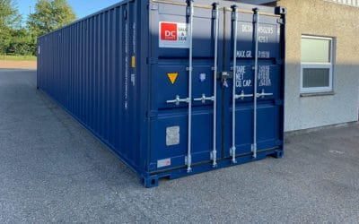 40 ft insulated container – model 4064