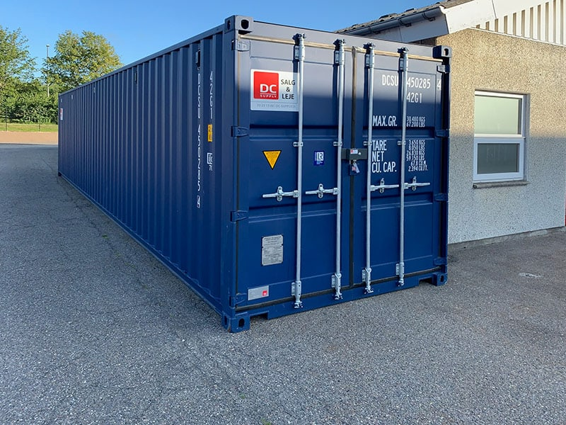 40 fods isoleret container – model 4064