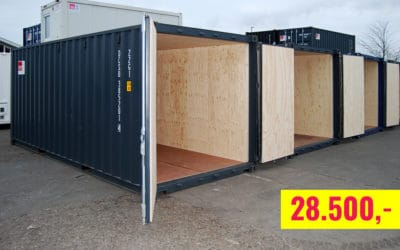 20-ft insulated container for sale