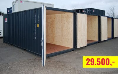20-ft insulated container model 2065 for sale