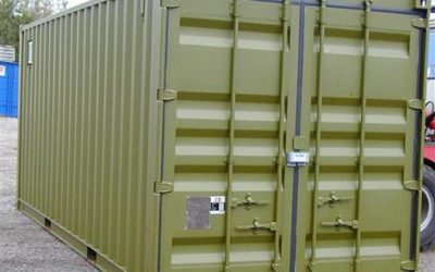 Security container for military applications