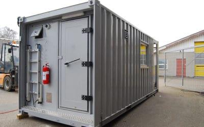 Combat information container (CIC)