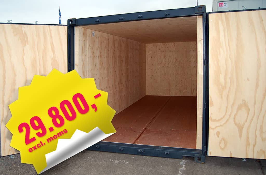 Isoleret lagercontainer – DCS 2064