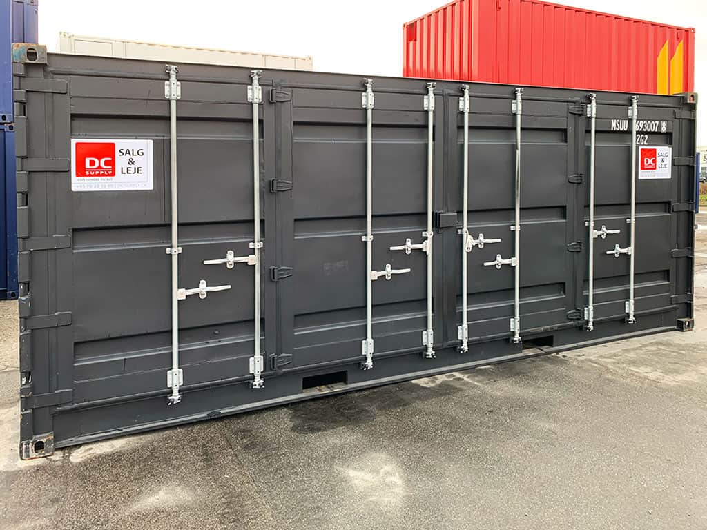 Side door containers
