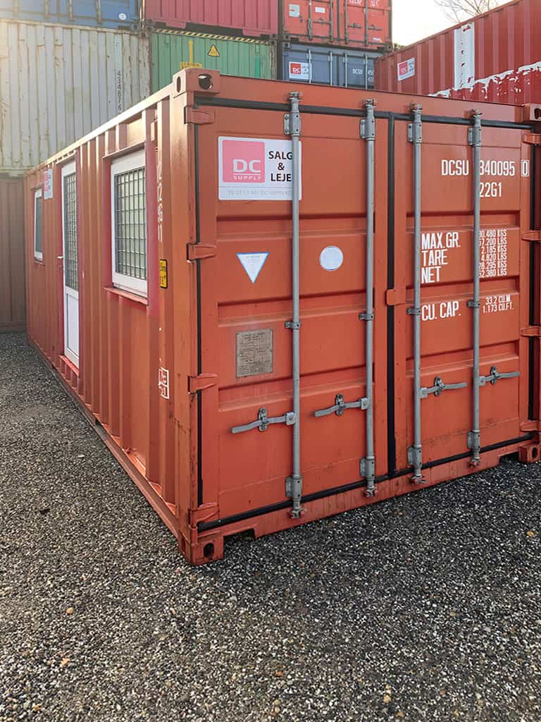 Accommodation container model no 2032 w/ 2 rooms - No. 340 095-0