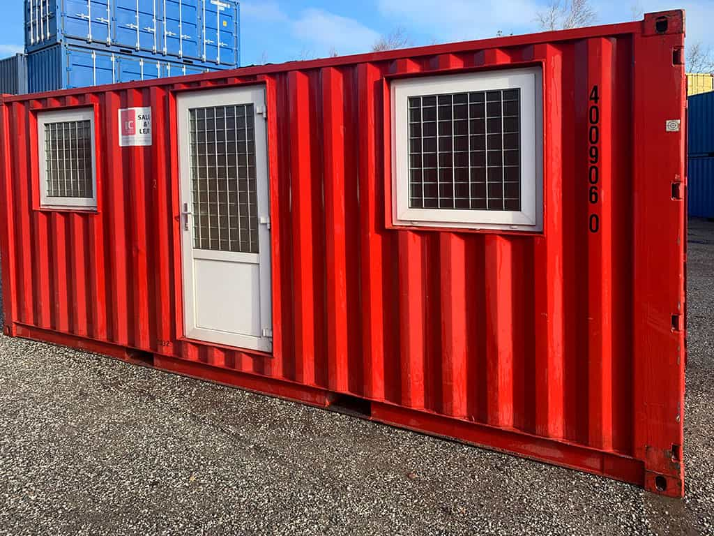 Accommodation container model no 2032 w/ 2 rooms - 400 906-0.