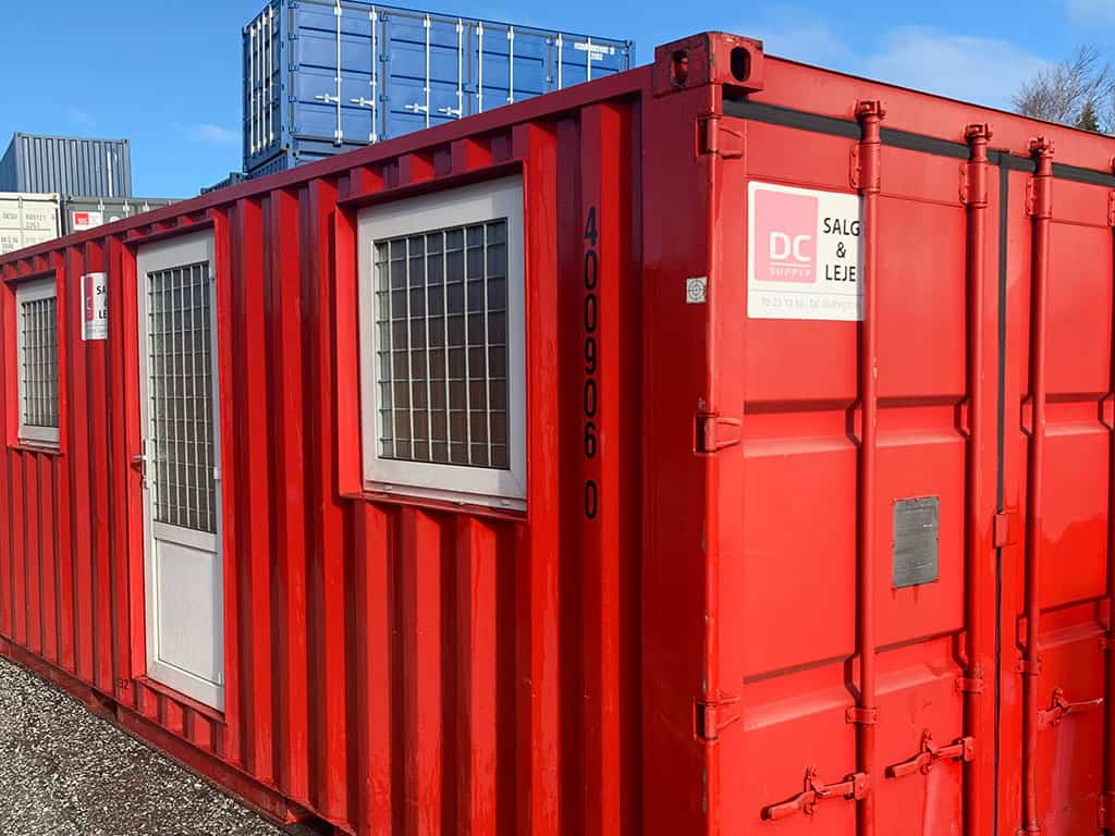 Accommodation container model no 2032 w/ 2 rooms - 400 906-0