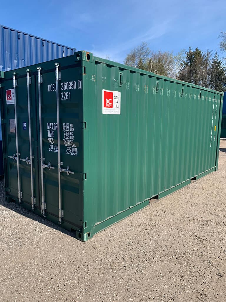 20 fods lagercontainer nr. 360350-0