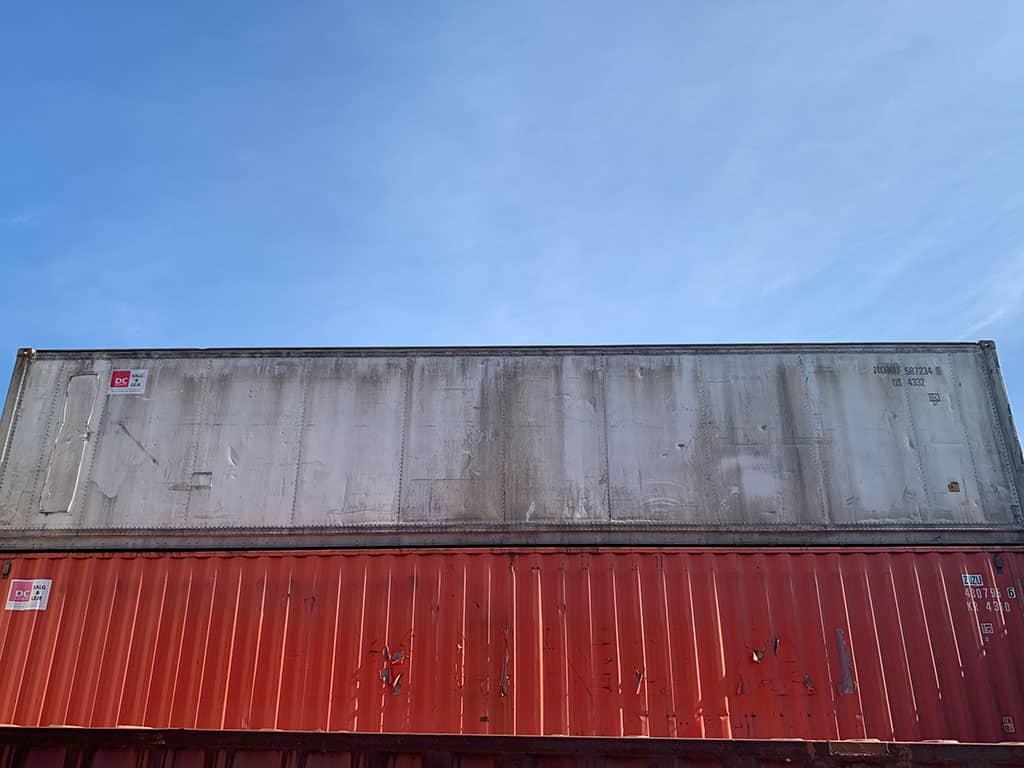 40 ft X ex-reefer - DKK 19,000
