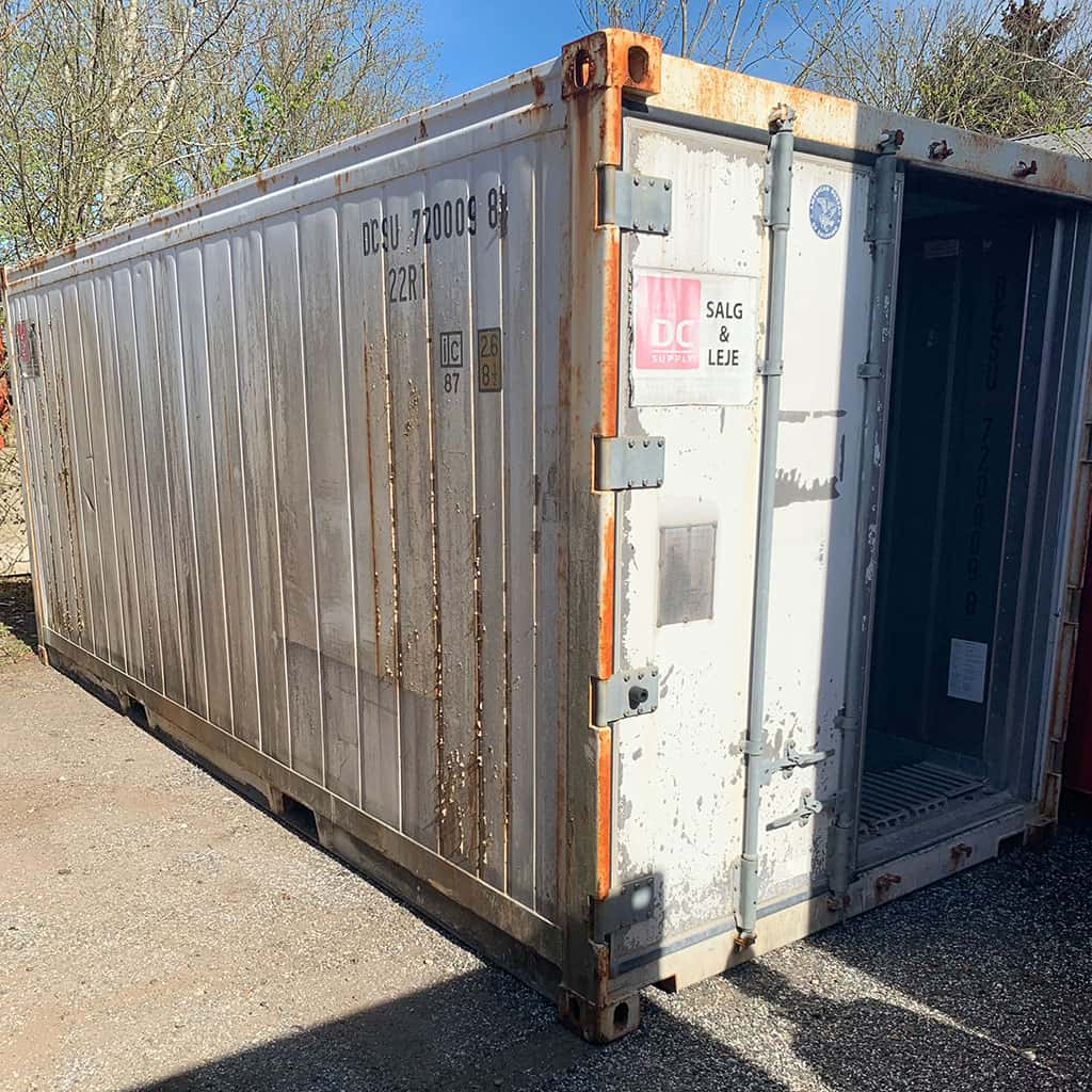 20 ft reefer container no. 720009-8