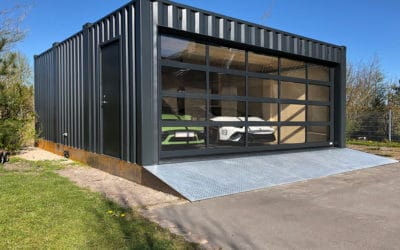 Bespoke, purpose built garage container