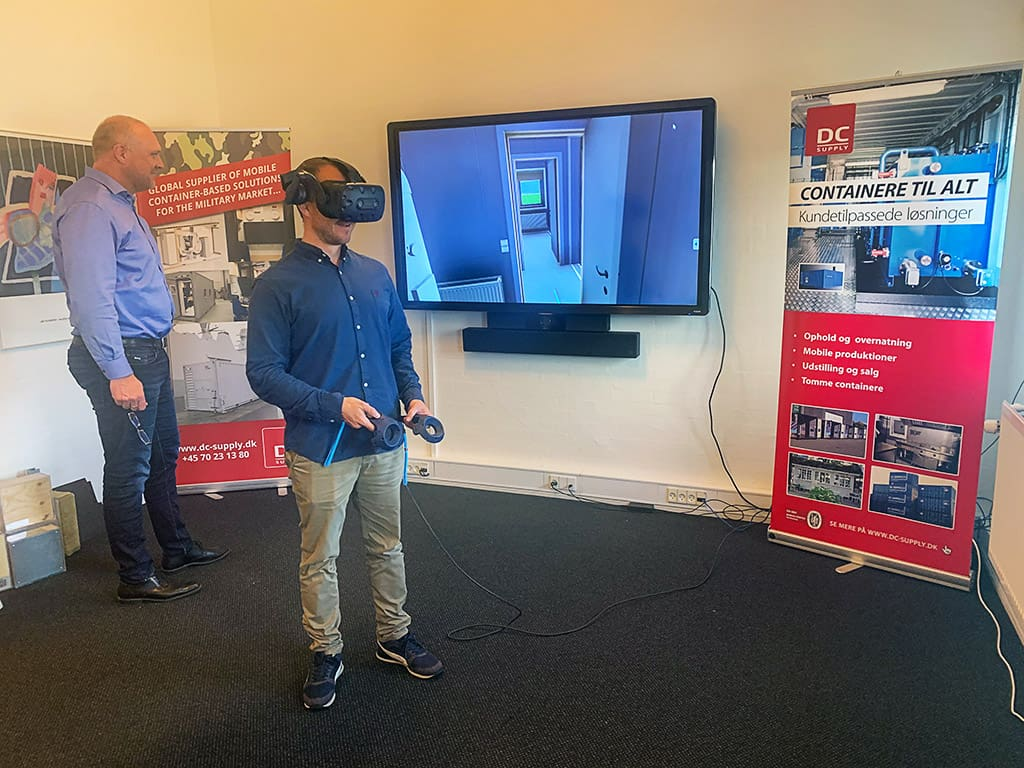 Oplev dit container projekt i Virtual Reality