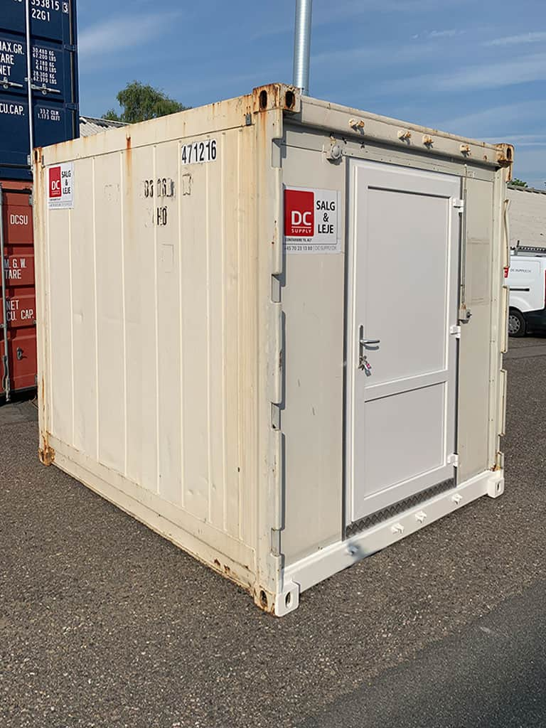10 ft container for refrigeration - 2 pcs. -  DKK 31,500 ex. VAT each