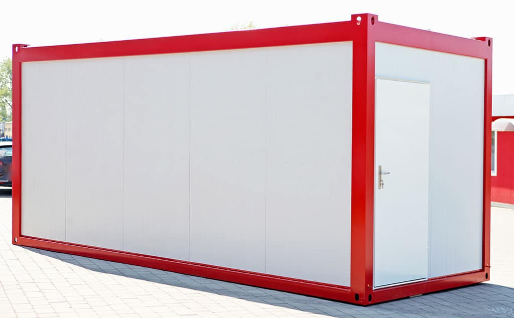20 ft standard office modules - fast delivery from DC-Supply
