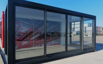 Showroom container module