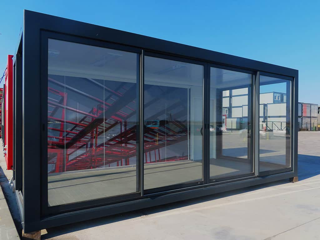 Showroom i container modul