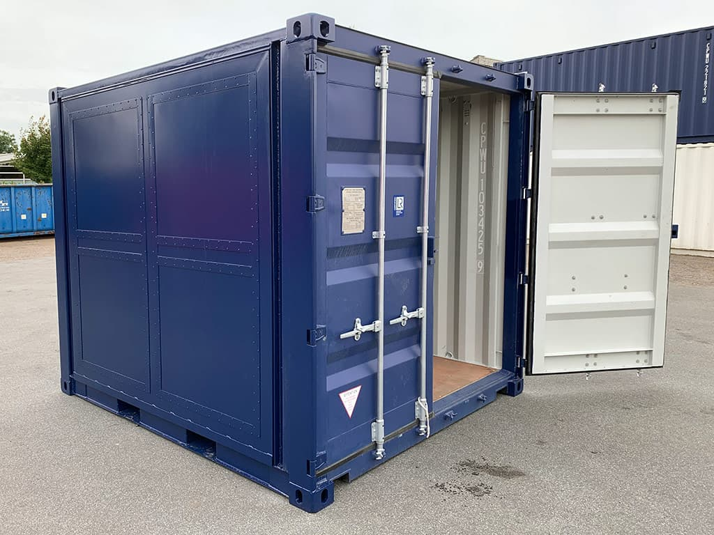NEW 10 ft container with side opening