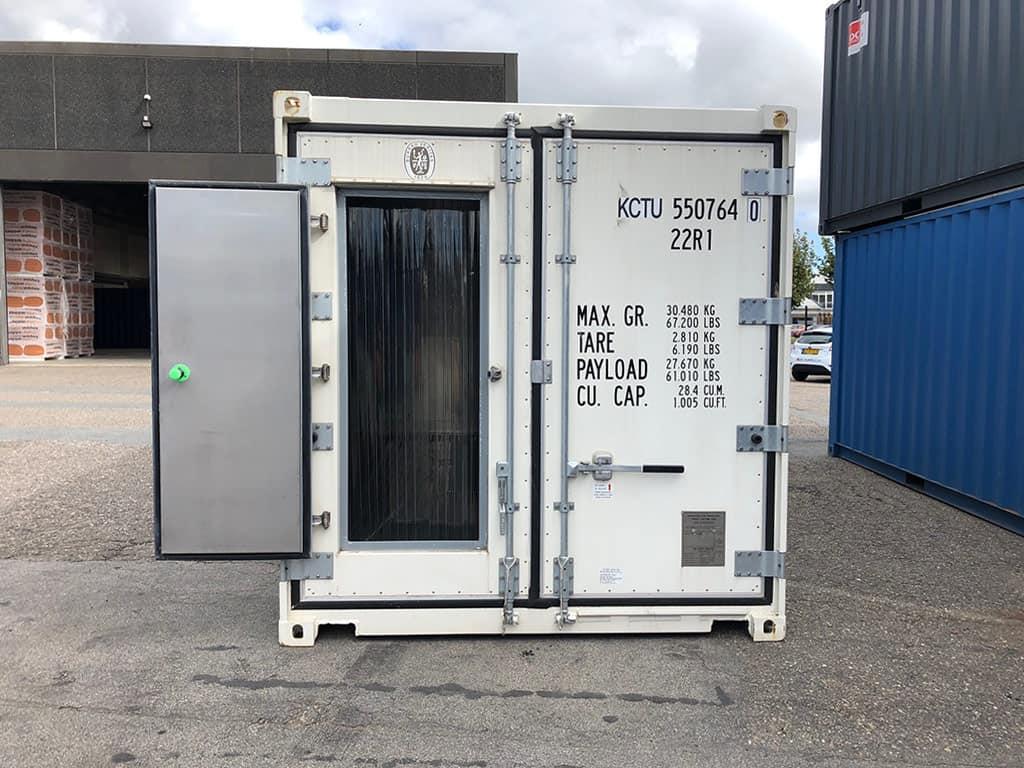 Helt ny 20 fods reefer container - kr. 105.000 ex moms