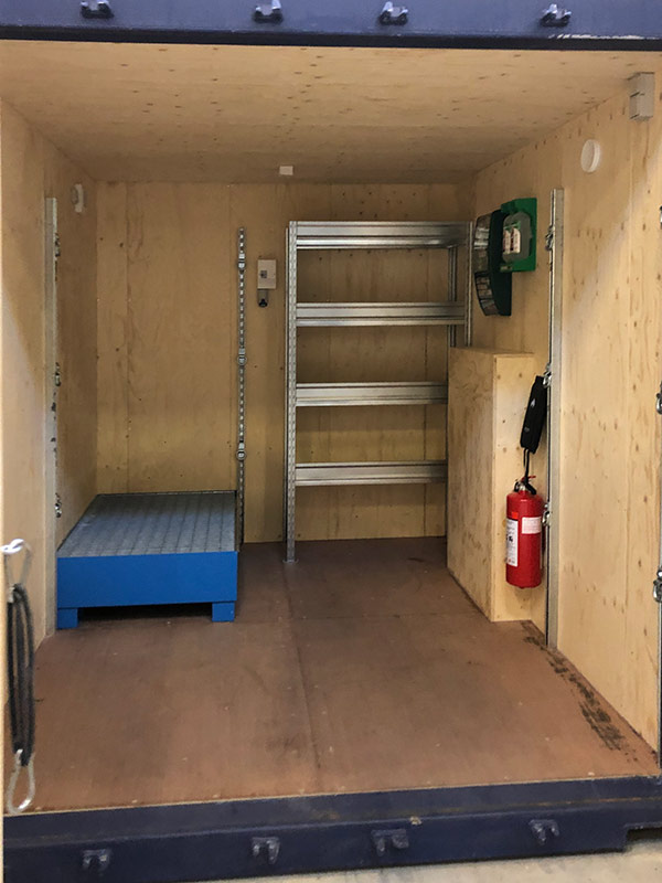 Container workshop - custom-built solutions