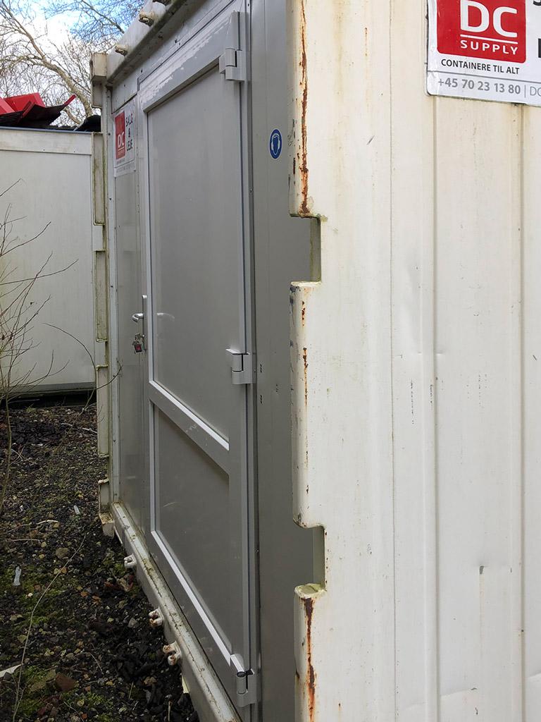 Brugt reefer container til køl , 10 fod, kr. 28.000