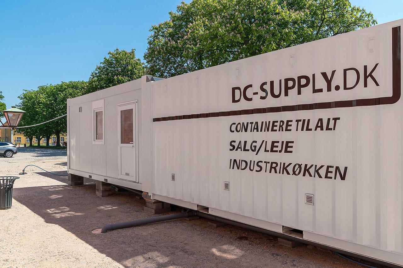 Leje af storkøkken hos DC-Supply A/S