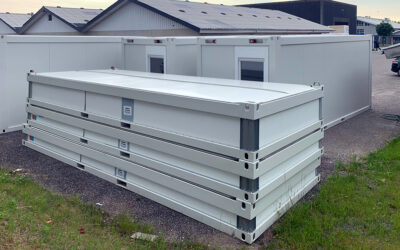 20 ft flat pack container module