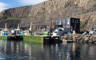 Kantine og mødelokale i special container løsning