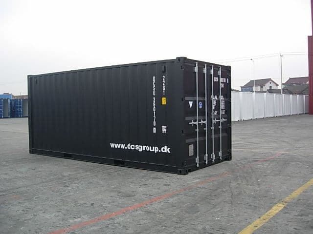20 ft standard ISO container