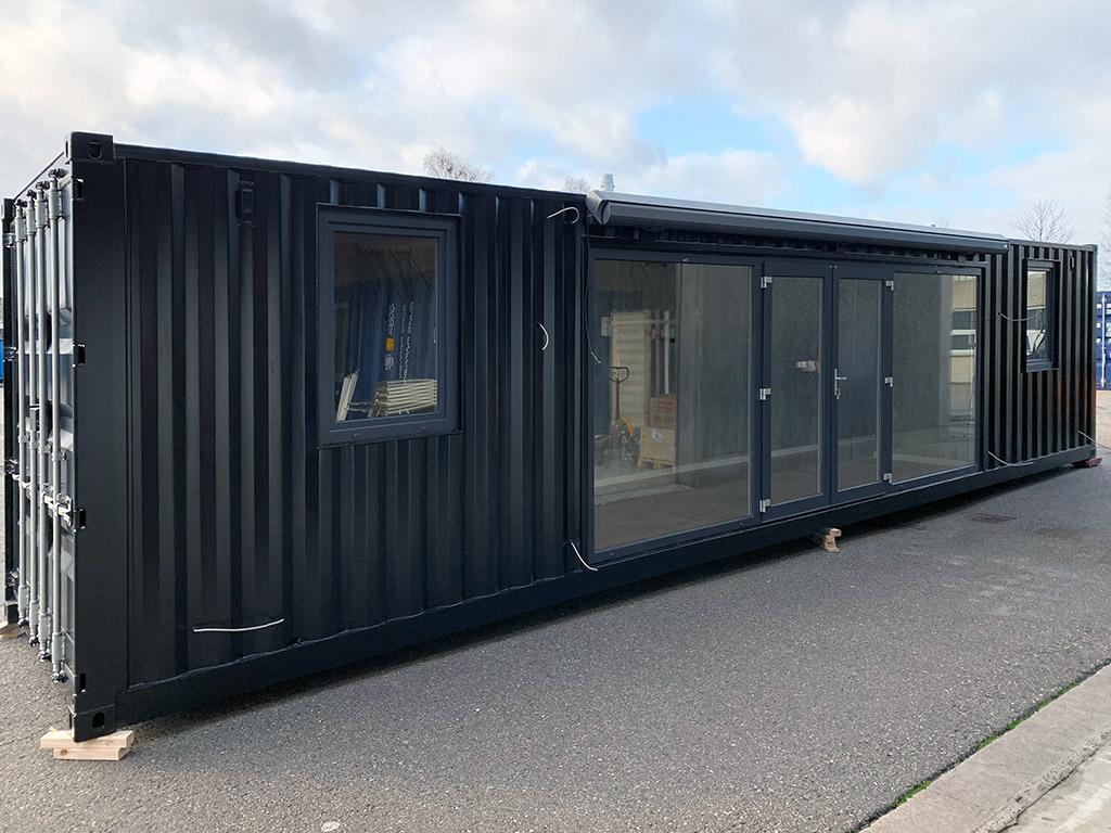 40 fods showroom container til Wexøe