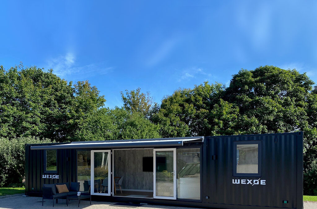 40 ft showroom container for Wexøe